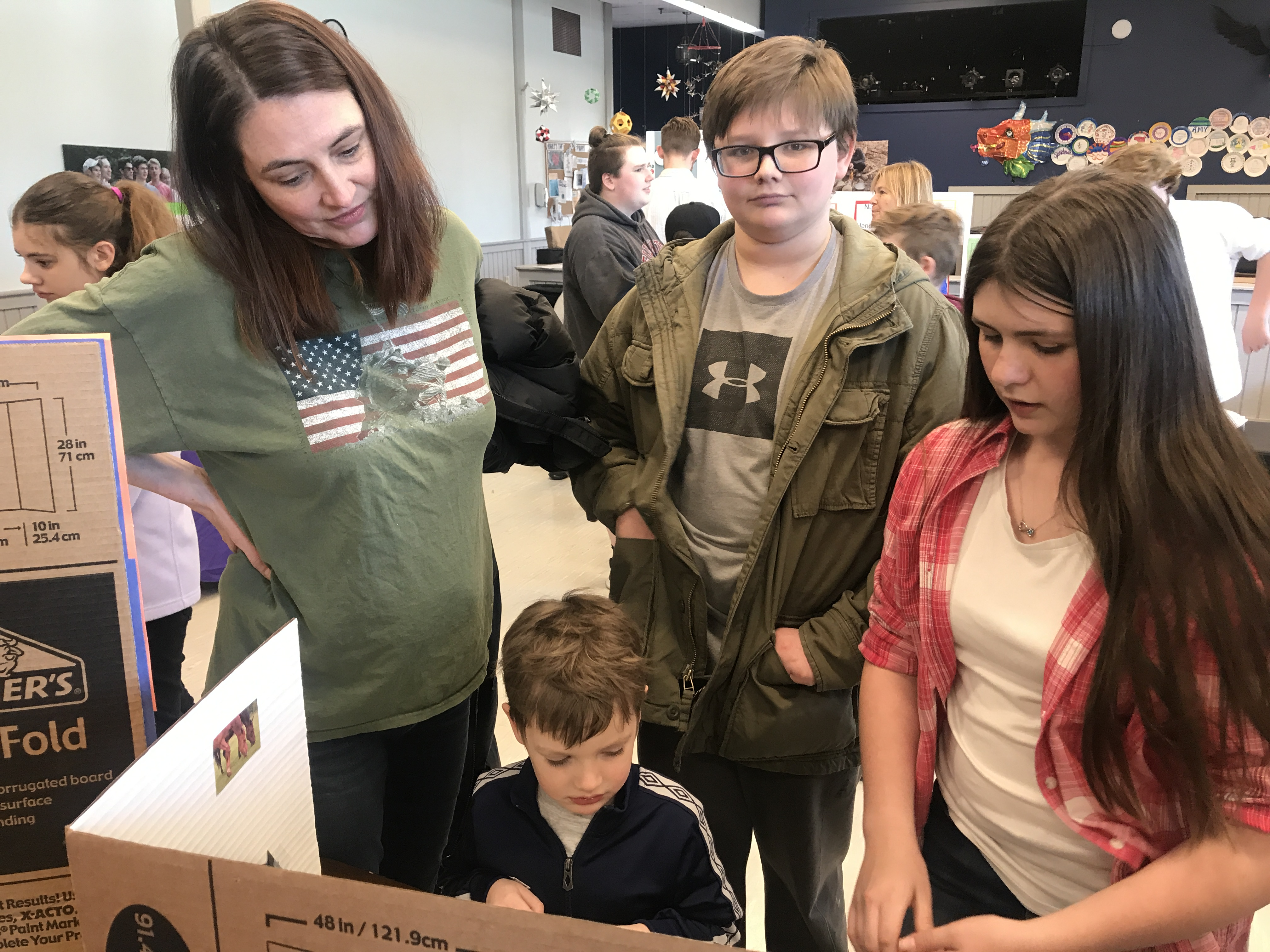 Middle School Math Fair Showcase